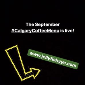CalgaryCoffeeMenu