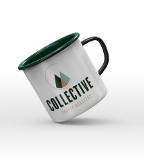 Collective Enamel Mug