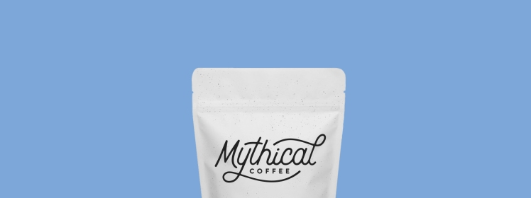 mythical coffee banner